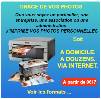 Pictogramme tirage de vos photos