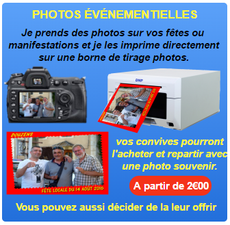Pictogramme photos evenementielles